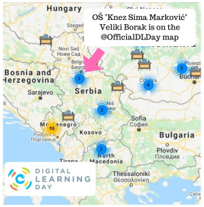 Digital Learning Day map